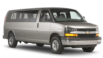 Full Size Van Rental >> Chevrolet Express Van Grau 2015